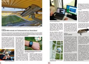 Torlinientechnik – erstmals bei der WM 2014 im Einsatz