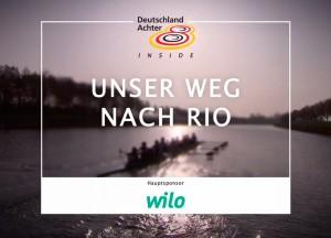"""Video-Serie """"Unser Weg nach Rio"""" für den Deutschland-Achter"""