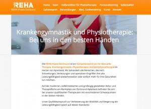 Webseiten-Relaunch: Reha-Praxis Dortmund